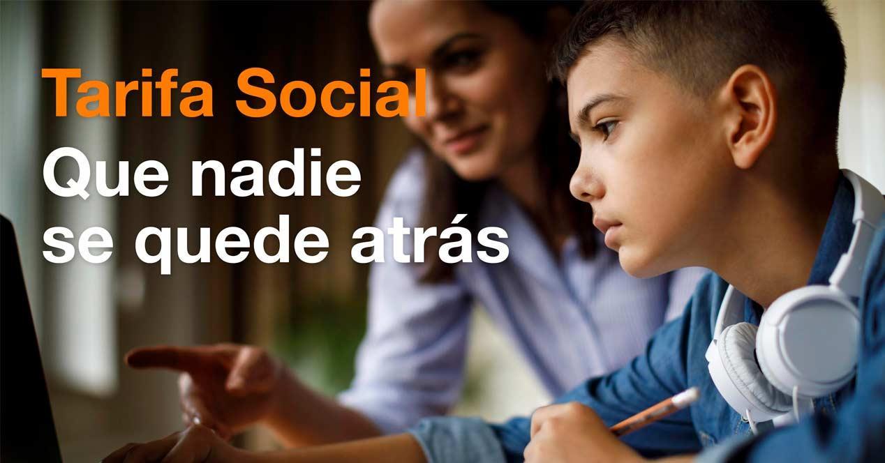 tarifa social orange
