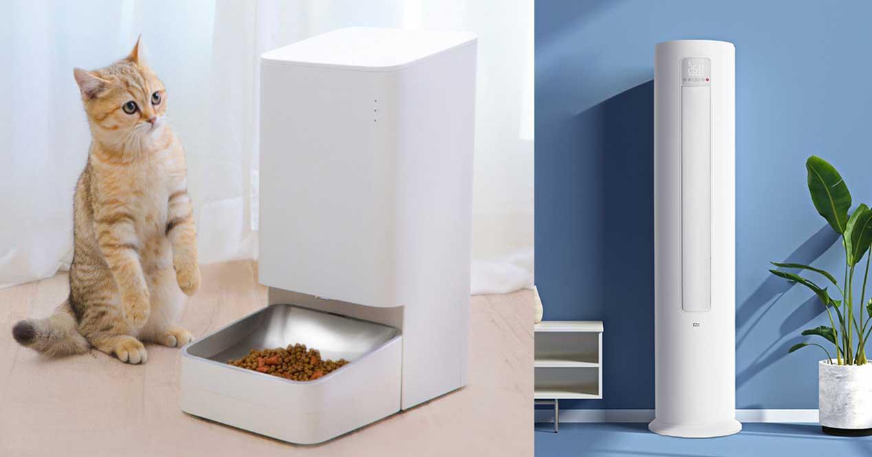 xiaomi dispensador comida aire acondicionado