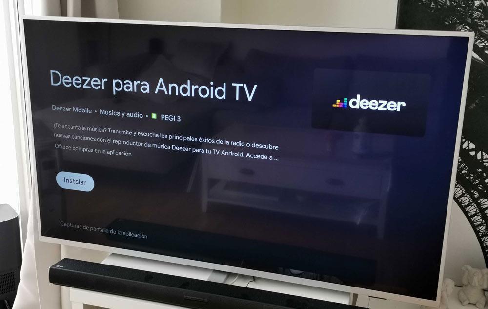 Smart TV Philips Deezer AndroidTV