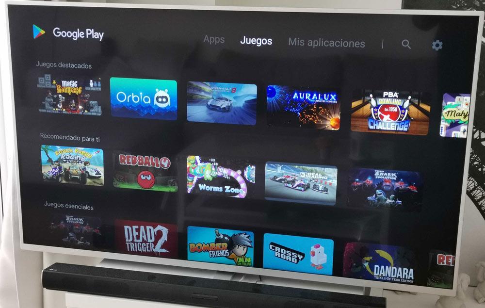 smart TV Philips Google Play Philips