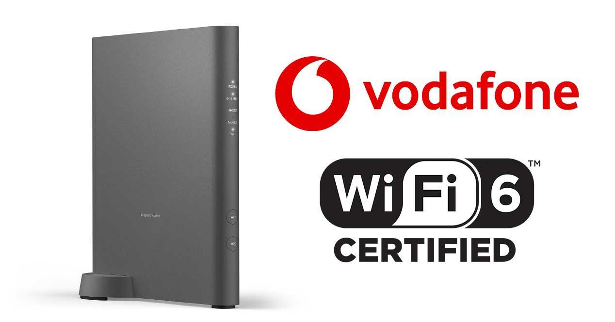 Vodafone Wi-Fi 6 Station router españa