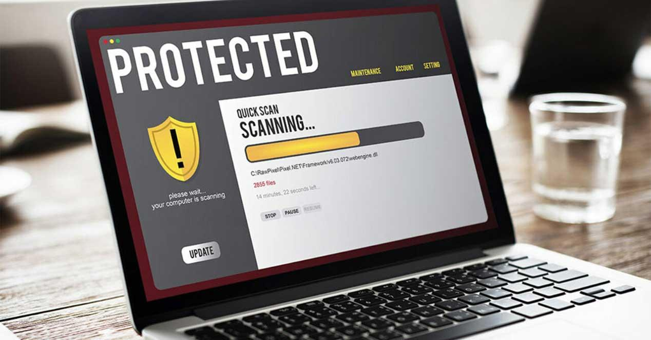 antivirus escaneo