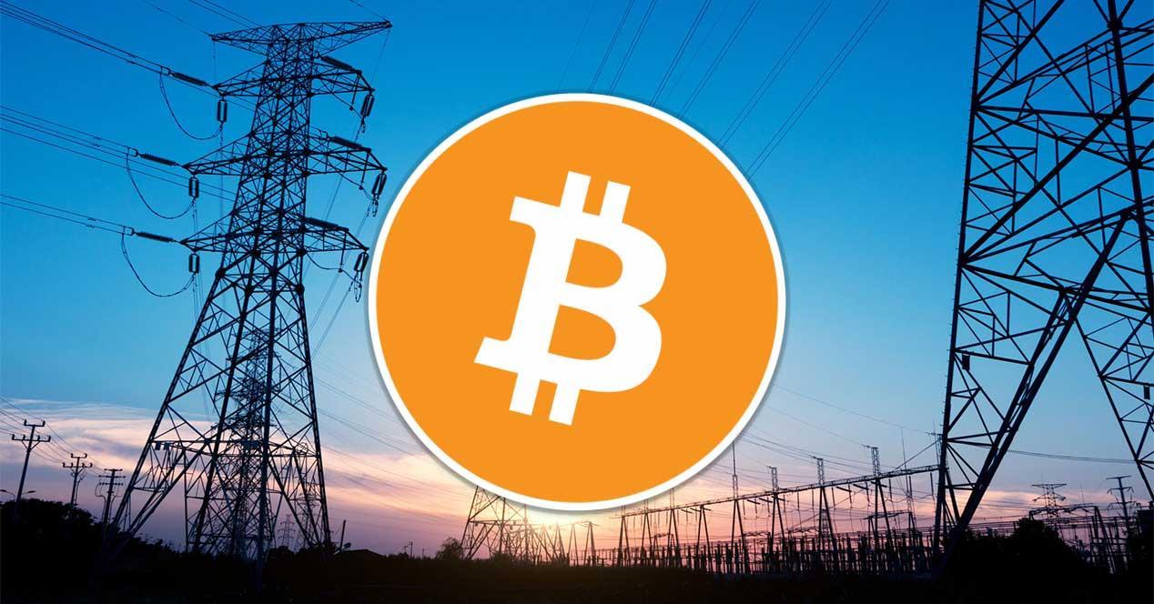 bitcoin electricidad