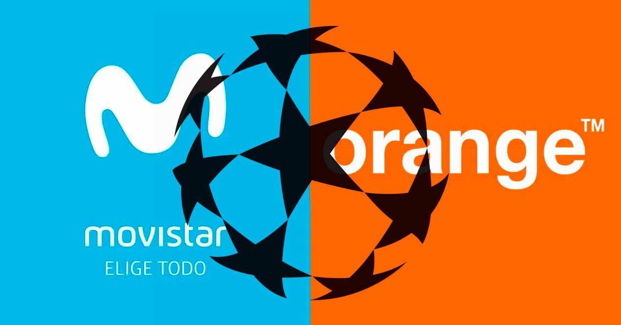 champions movistar orange