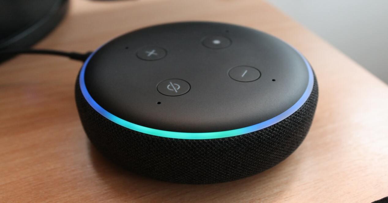 Un Amazob Echo Dot