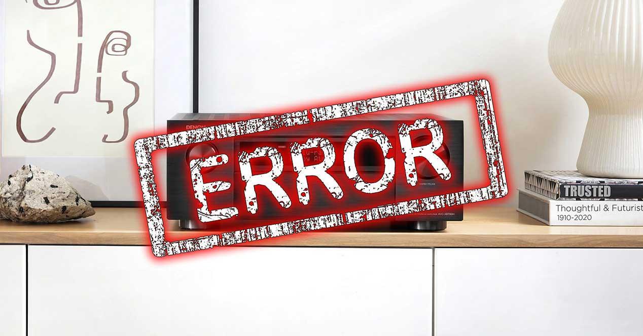 error hdmi 2.1