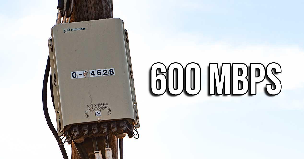 fibra 600 mbps