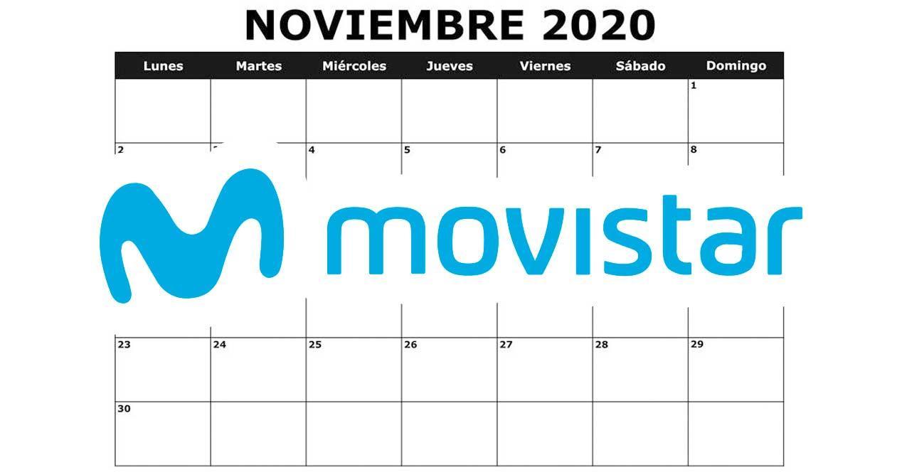 noviembre movistar