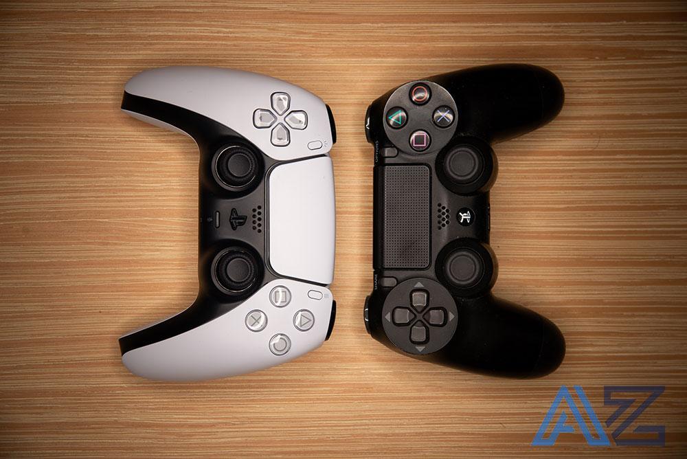 Gamepad PS5 vs PS4