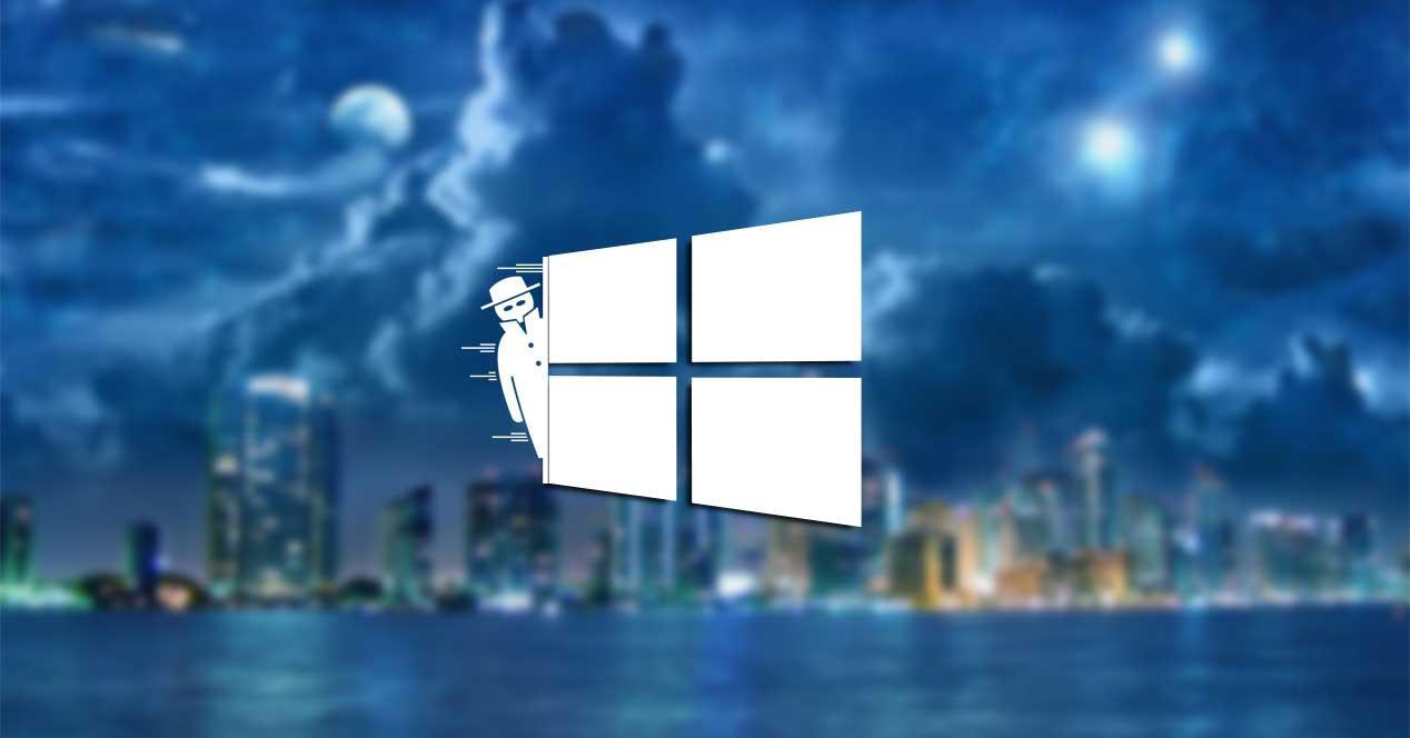 windows 10 icono oculto