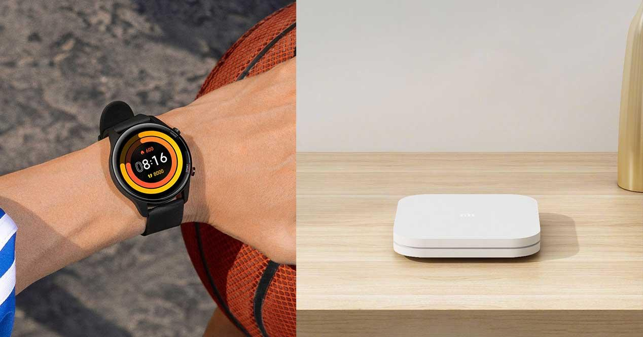 xiaomi mi box 4s mi watch color sports edition