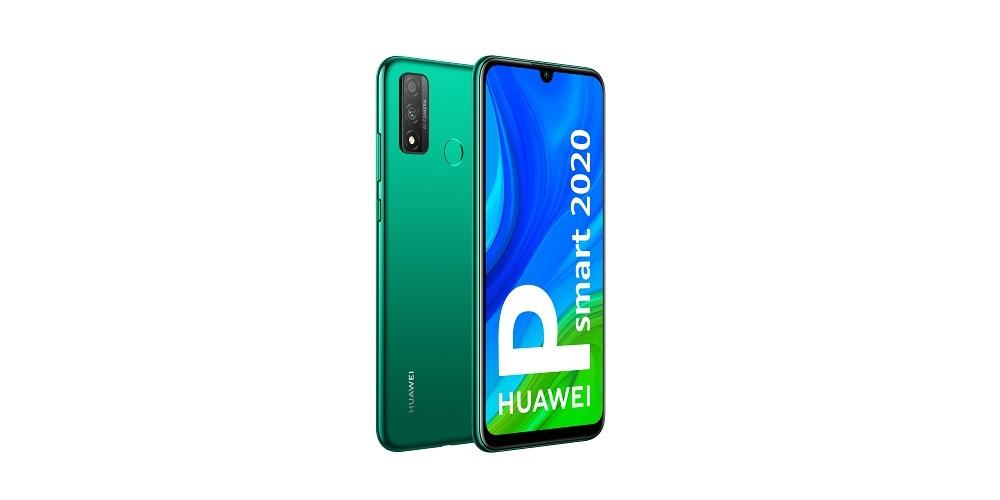 Huawei P Smart 2020 vista lateral