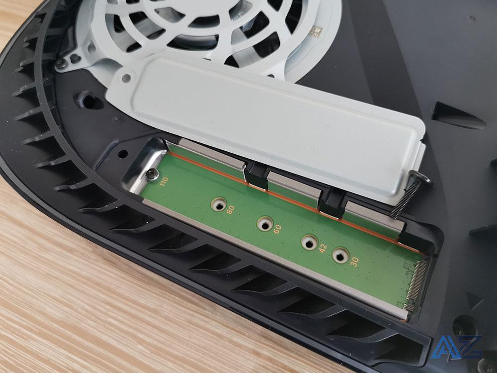 PS5 bahía SSD