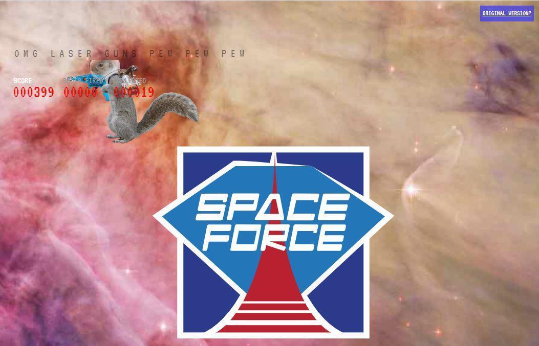 Space Force webs adictivas para procrastinar