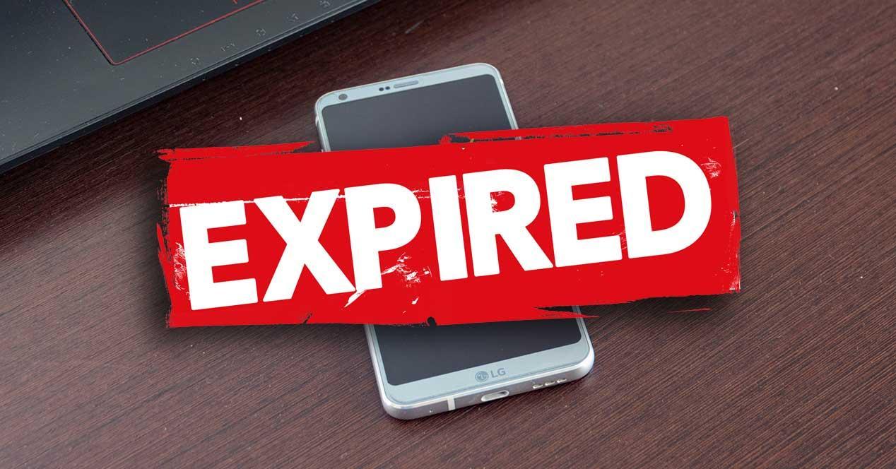 android movil certificado caducado