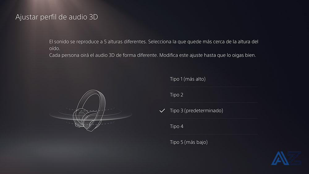 configuracion de sonido PS5