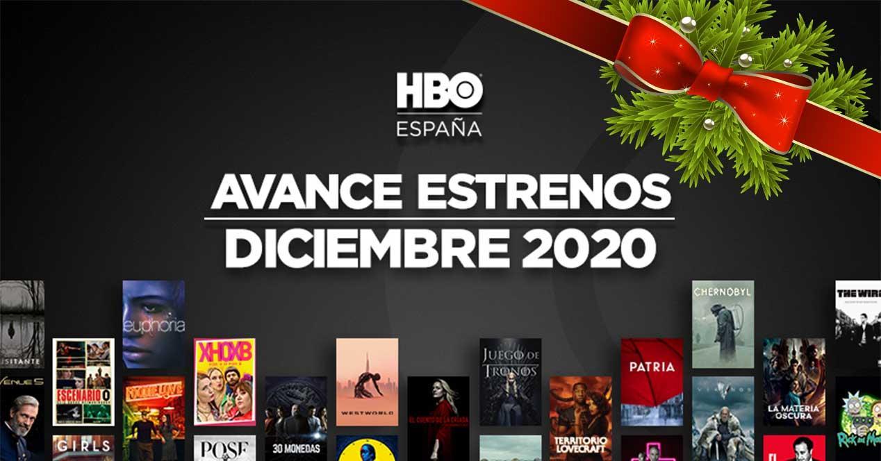 hbo estrenos diciembre 2020 españa