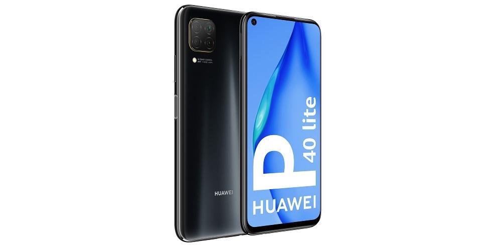 Huawei P40 Lite vista lateral