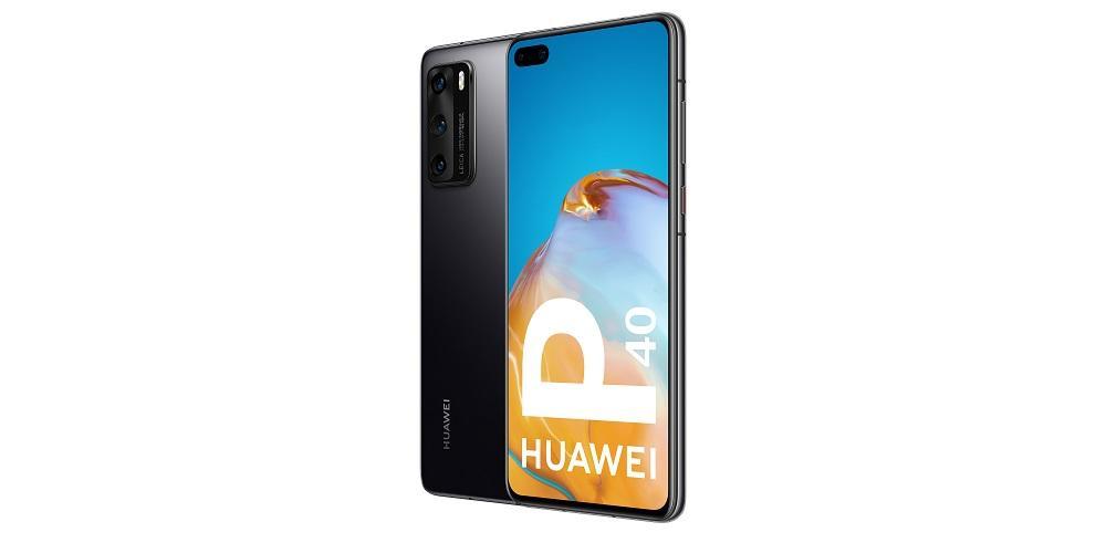 Huawei P40 vista letral
