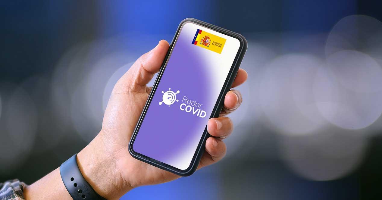 radar covid android