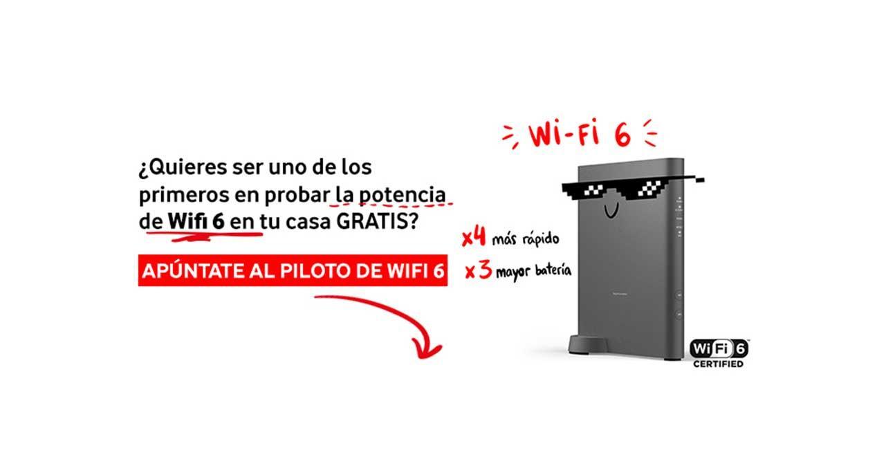 router wifi 6 vodafone