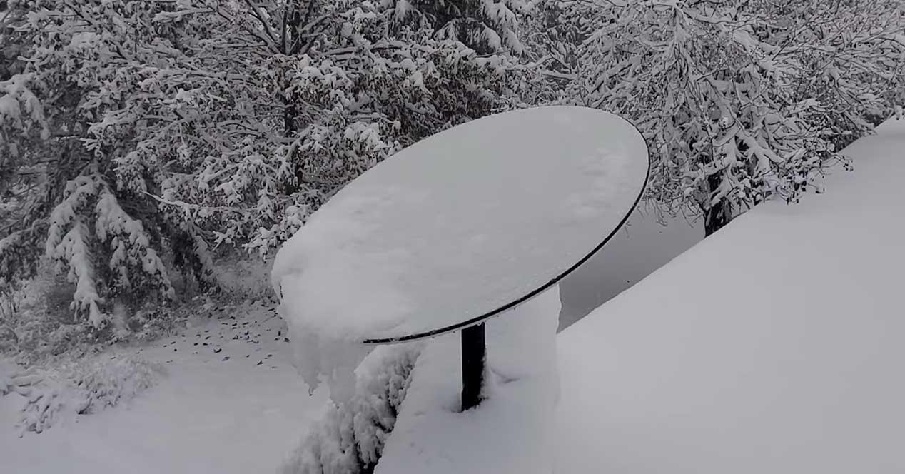 starlink nieve