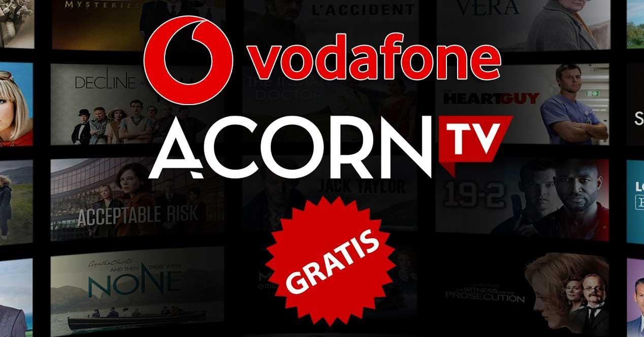vodafone acorn tv gratis