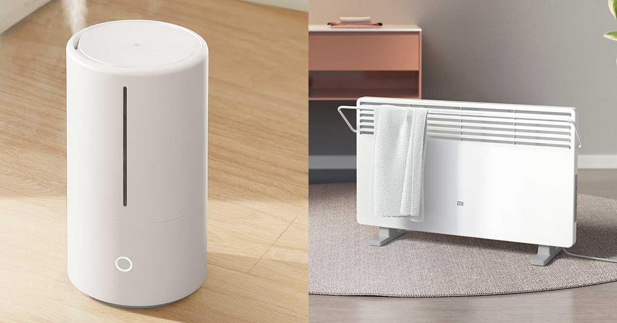xiaomi calefactor humidificador
