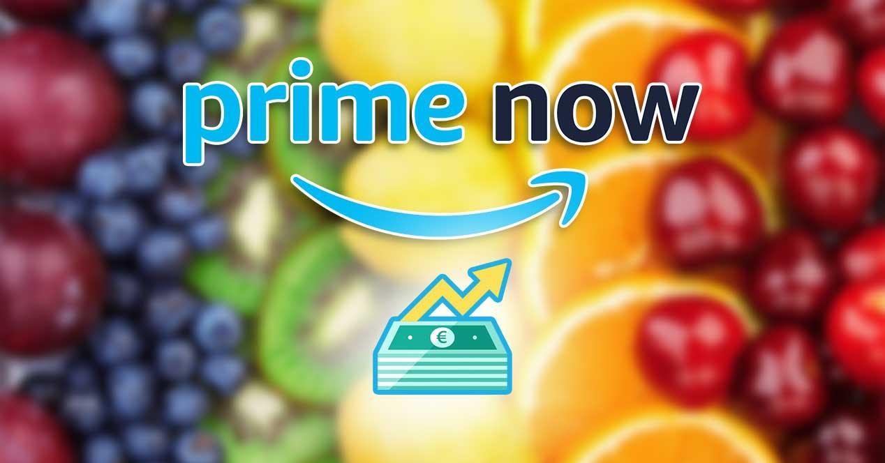 amazon prime now subida precio
