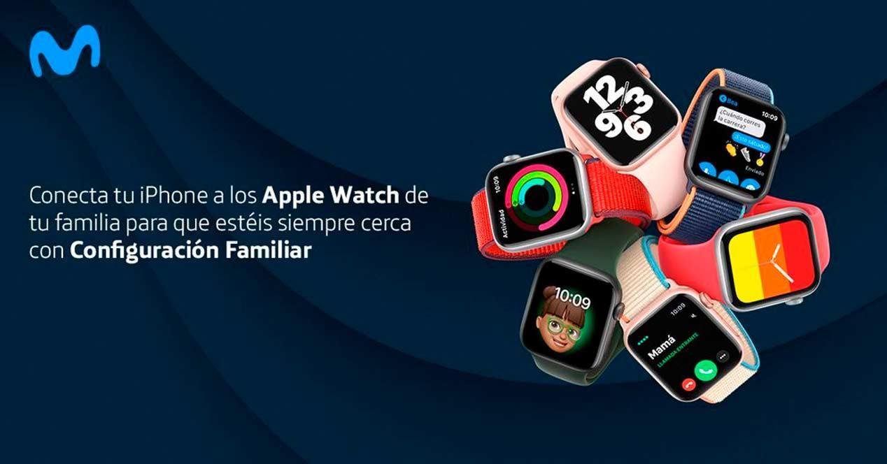 movistar apple watch