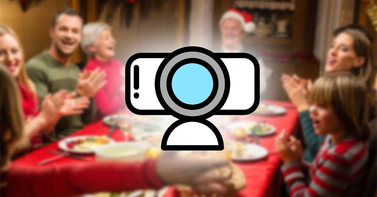navidad webcam