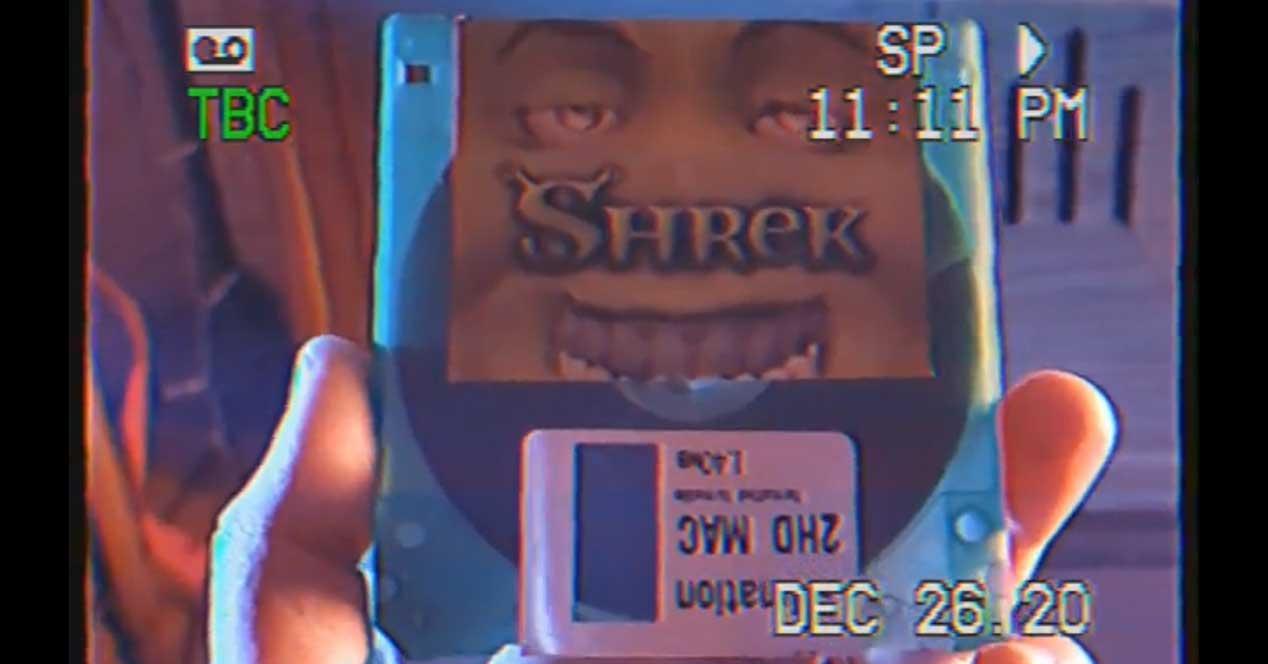 shrek disquete