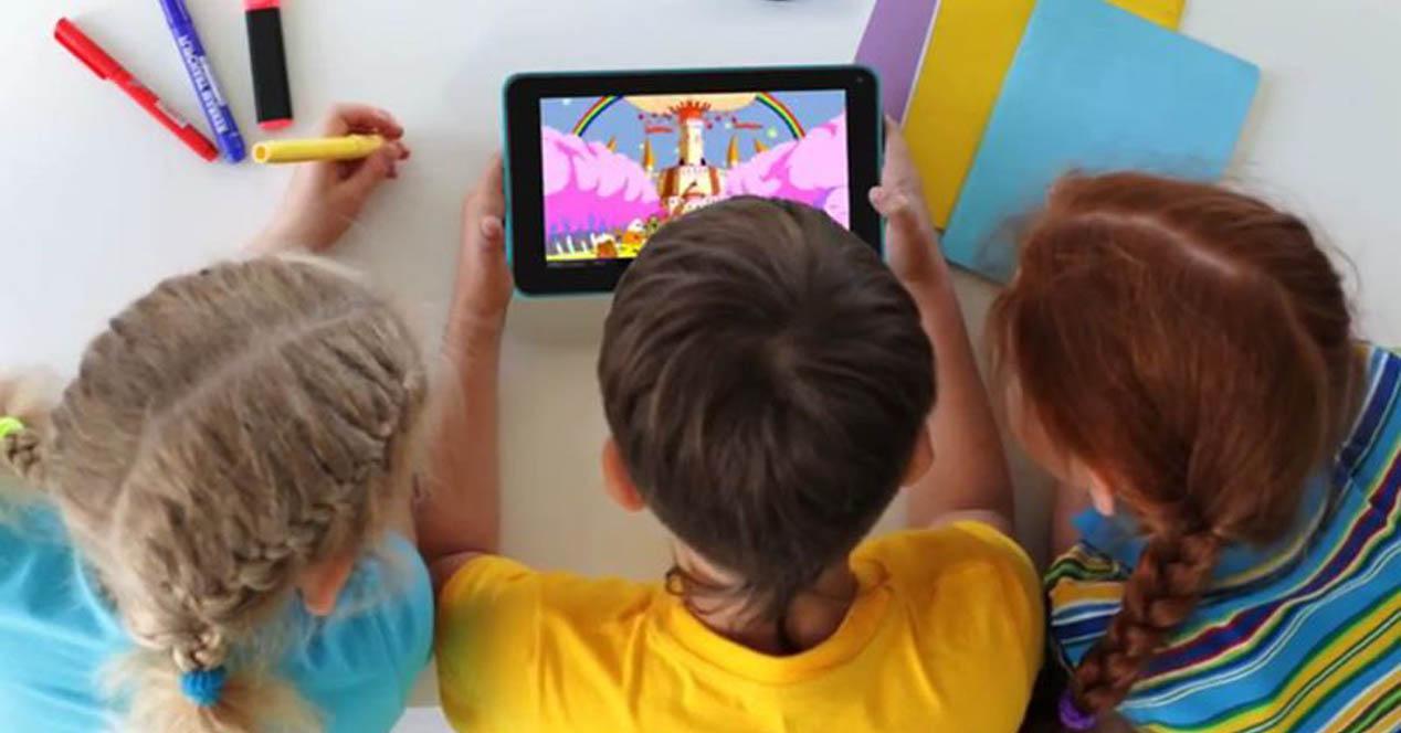 tecnología para niños