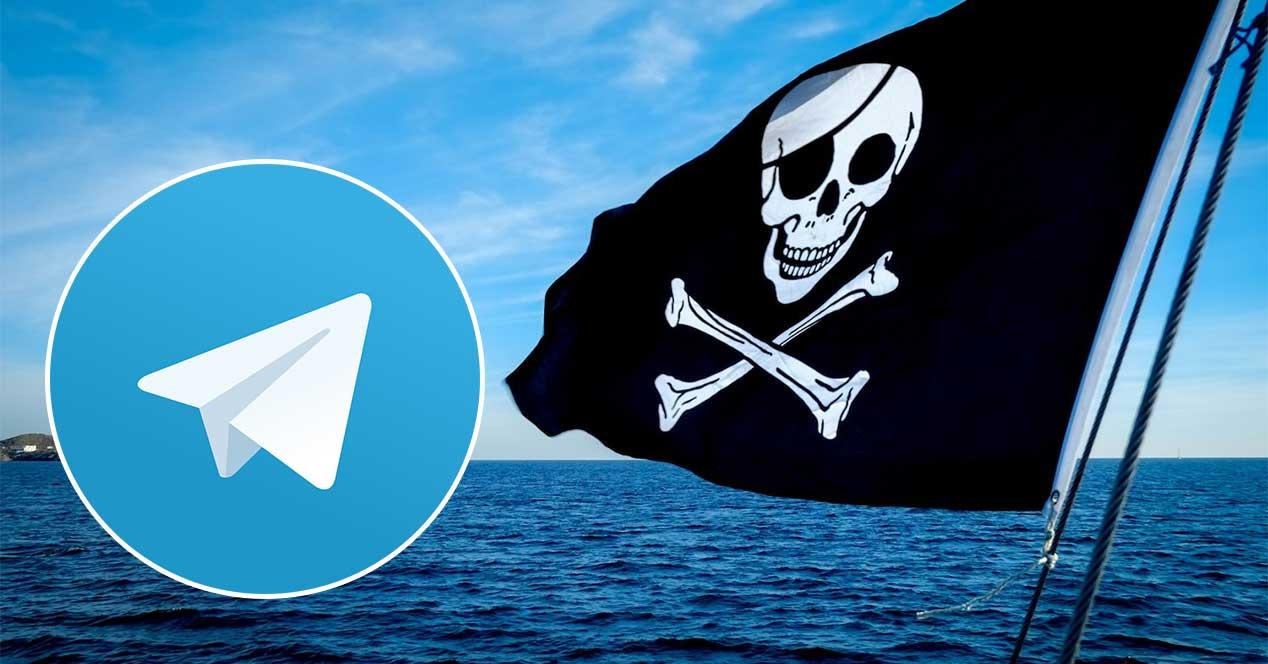 telegram pirateria