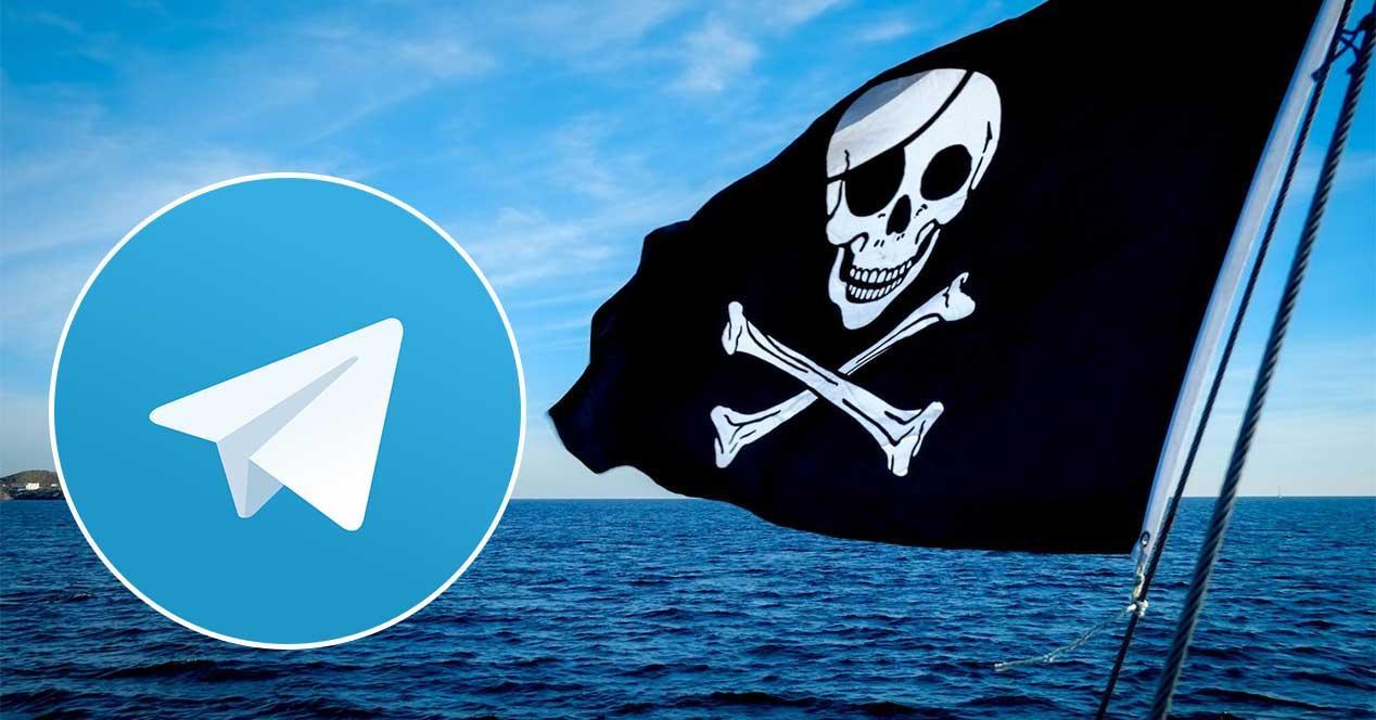 telegram pirateria