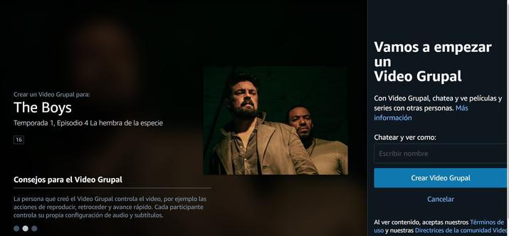 Cómo ver y comentar películas con amigos en Prime Video