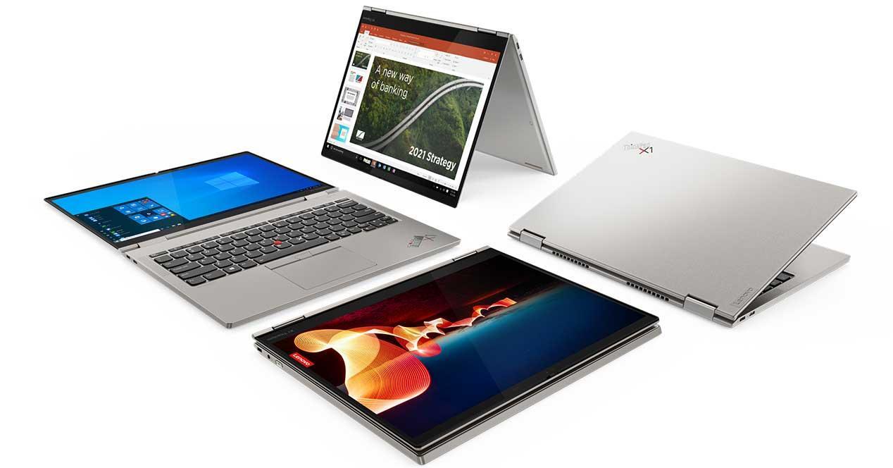 Lenovo nuevos portátiles ThinkPad X1 2021