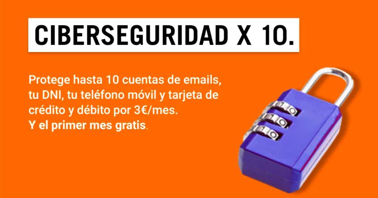 Ciberseguridad x10 de Yoigo