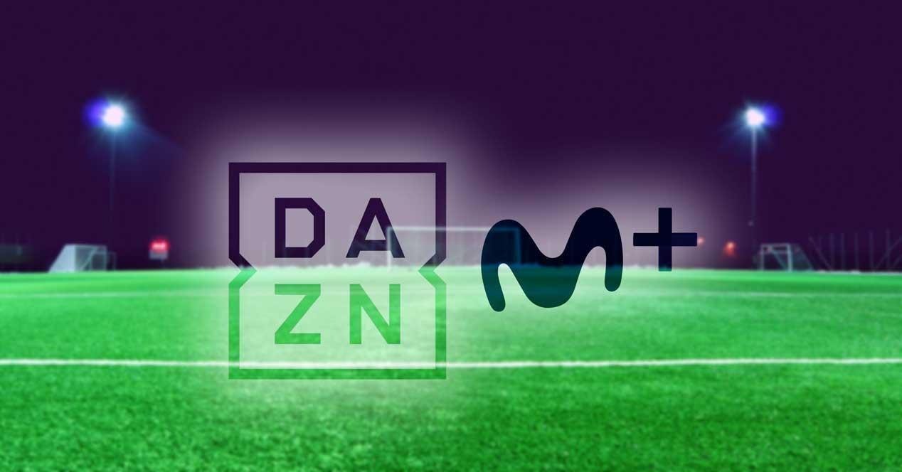 DAZN en Movistar