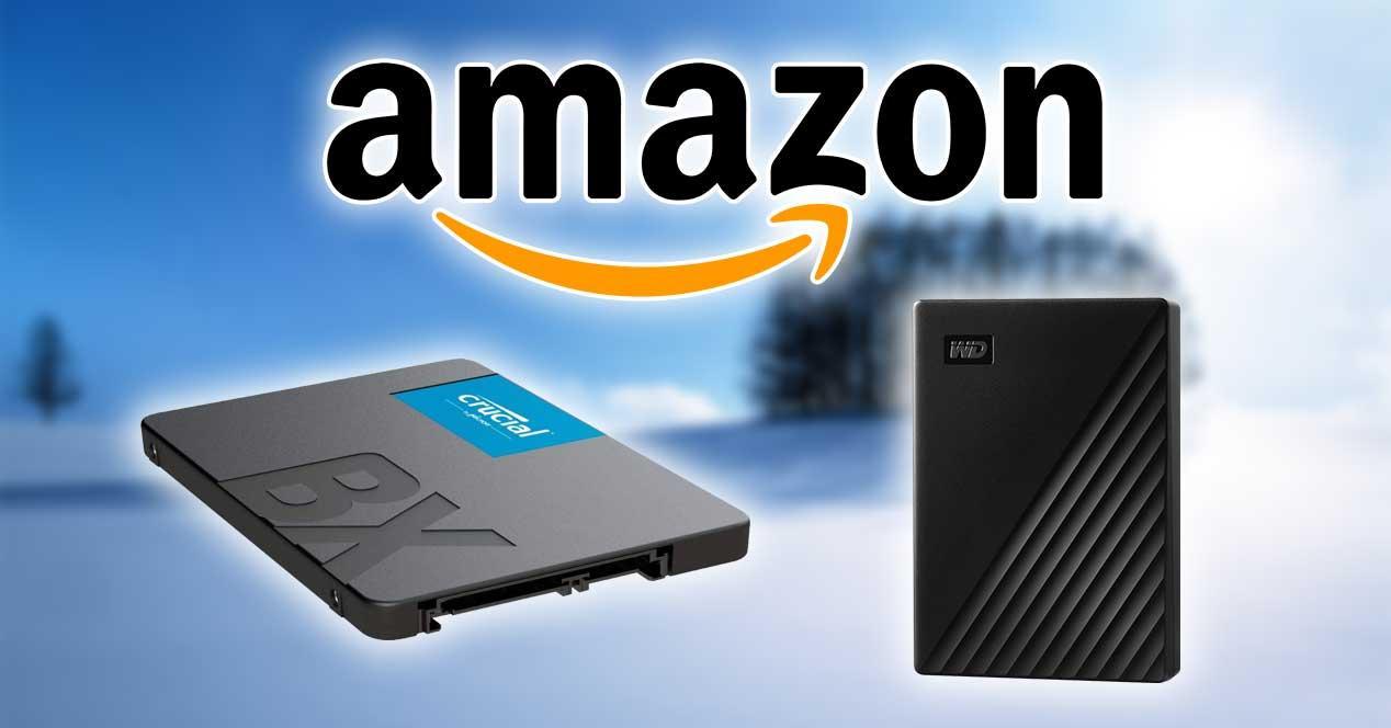 amazon disco duro ssd ofertas 12 enero