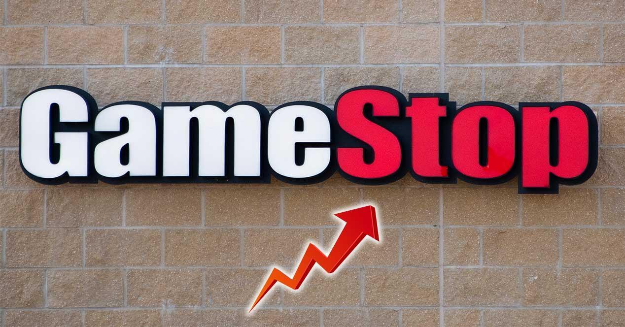 gamestop bolsa subida