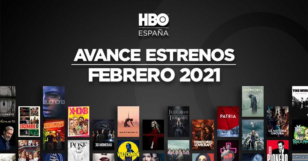 hbo estrenos febrero 2021