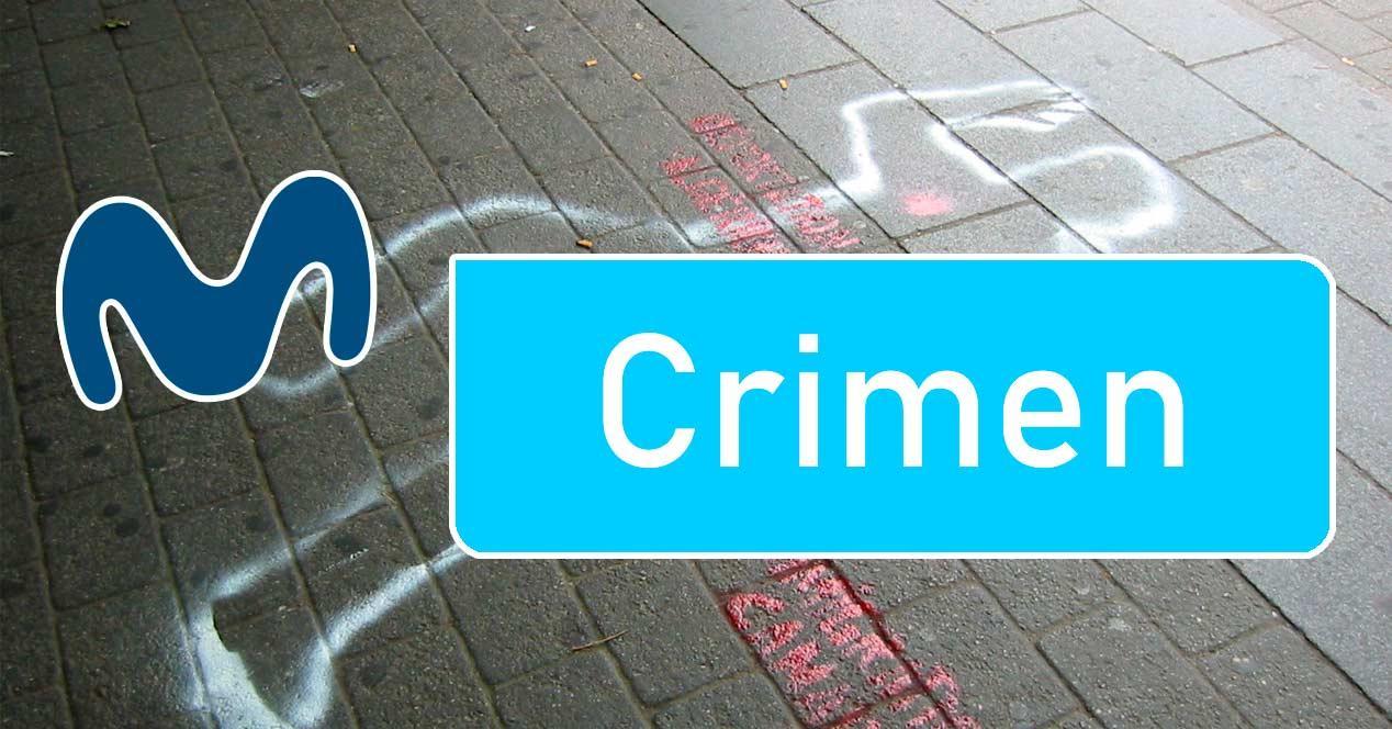 movistar crimen