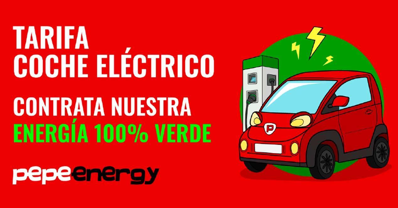 tarifa coche electrico pepephone