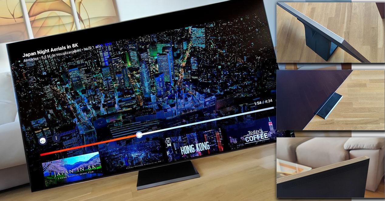 Samsung TV 8K con YouTube