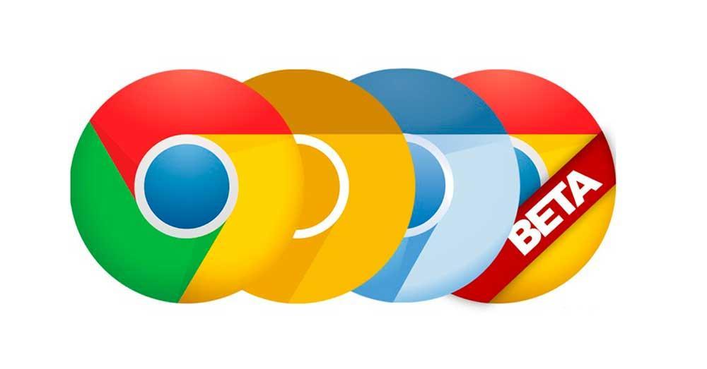 إصدارات جوجل كروم