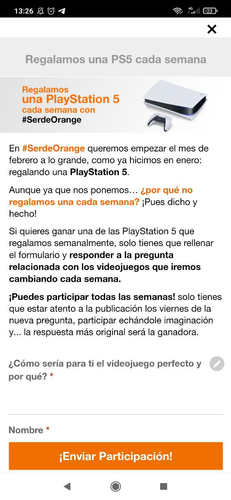ps5 orange