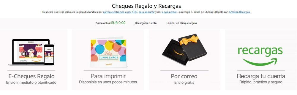 cheques regalo