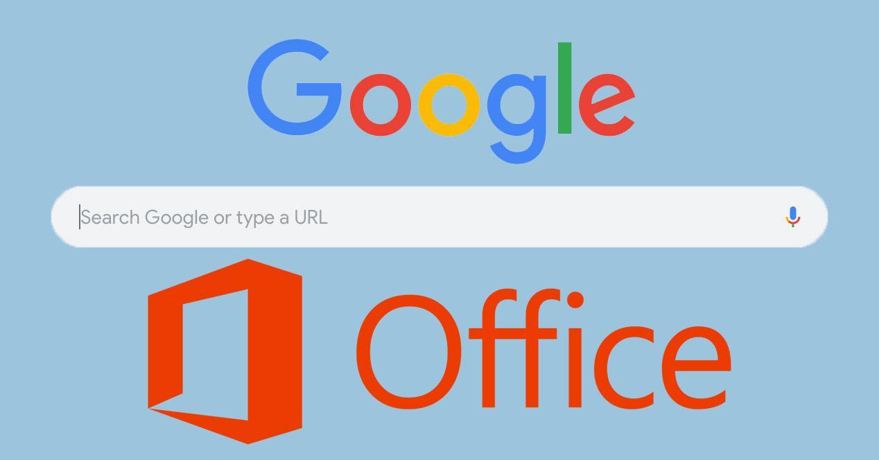 Google Chrome y Microsft Office