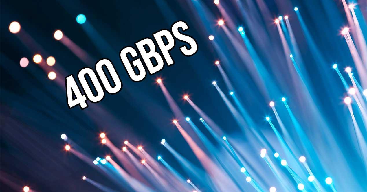 fibra optica 400 gbps